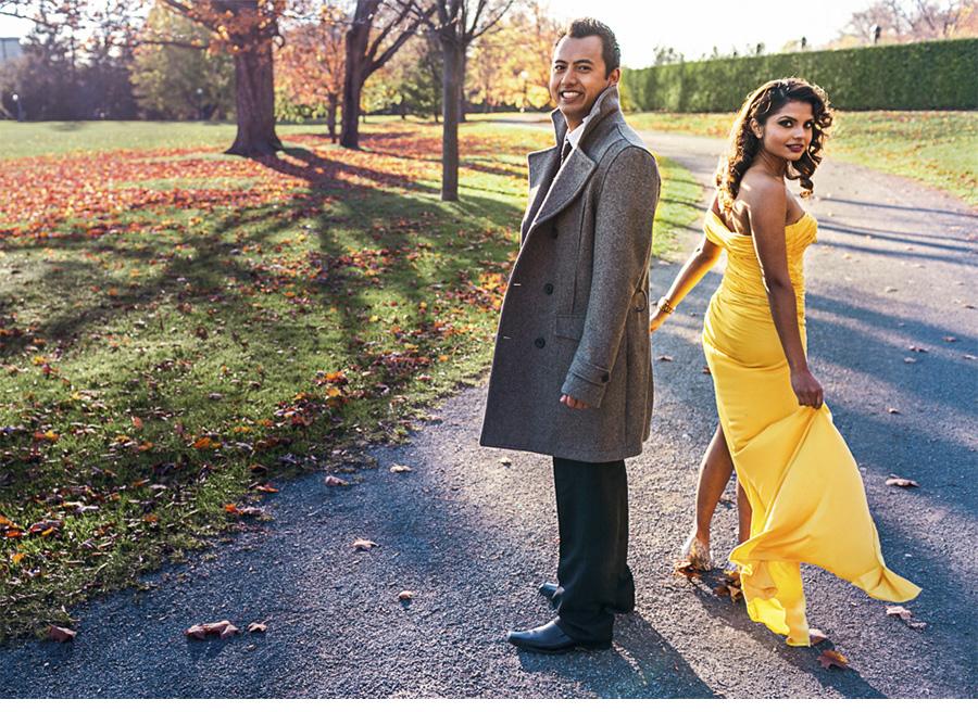elegant romantic engagement photography