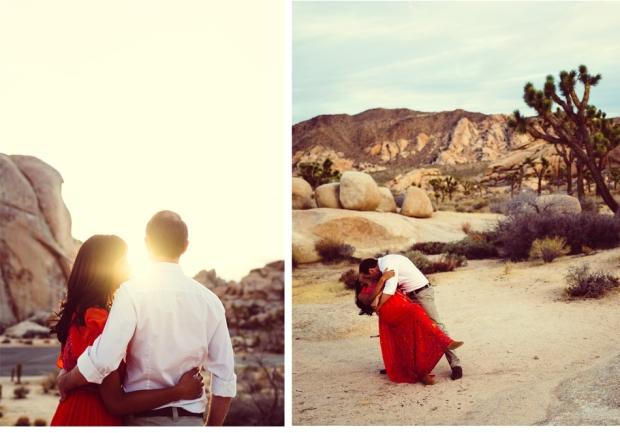 Joel Bedford Photography; Joshua Tree engagement session;