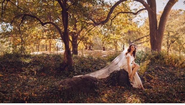 New York City Bride; Central Park Bride