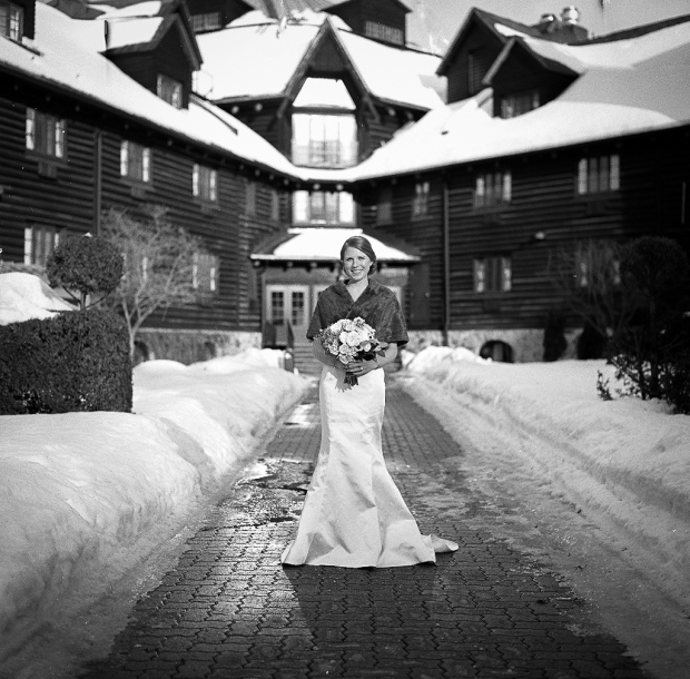 Joel Bedford Photography; Montebello Winter Wedding; Hasselblad Film Wedding;