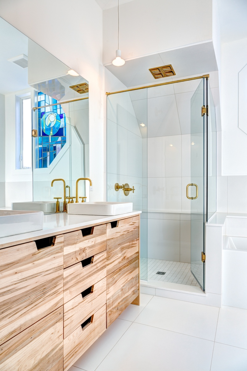 Modern Bathroom Design Ottawa; Clear Designs Ottawa; Joel Bedford Photography;