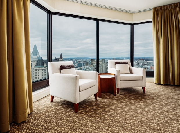 Interior/Architecture Photography Ottawa by Joel Bedford; The Westin Ottawa Hotel Suites;