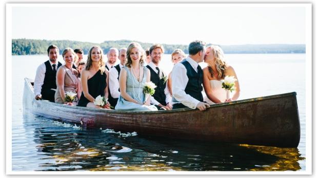 Camp Red Pine Wedding by Joel Bedford; Rustic Wedding Cottage Wedding Canada;