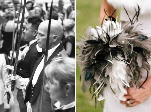 Ottawa Army Officers Wedding by Joel Bedford Photography; Rivini Gown; Elegant Fall Wedding;