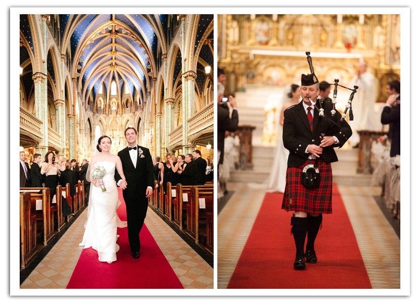 Notre Dame Cathedral Ottawa Wedding; Joel Bedford Photography;