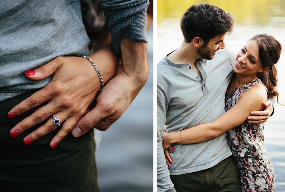Joel Bedford Photography; Natural Lakeside Engagement Session;