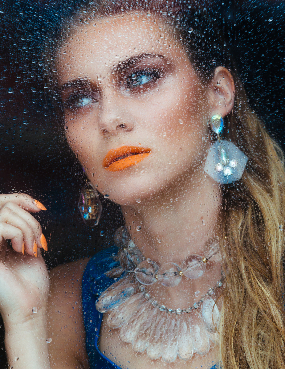 Joel Bedford Photography; Beauty Editorial; Fashion Photography; Water Beauty Make Up;
