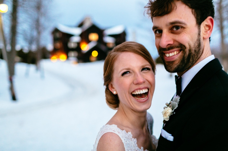 Photography: Joel Bedford - www.joelbedfordweddings.ca  Winter Montebello Wedding;