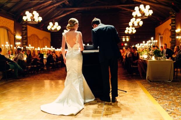 Photography: Joel Bedford - www.joelbedfordweddings.ca  Winter Montebello Wedding;