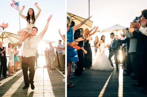 Beachcomber Cafe Newport Beach Wedding