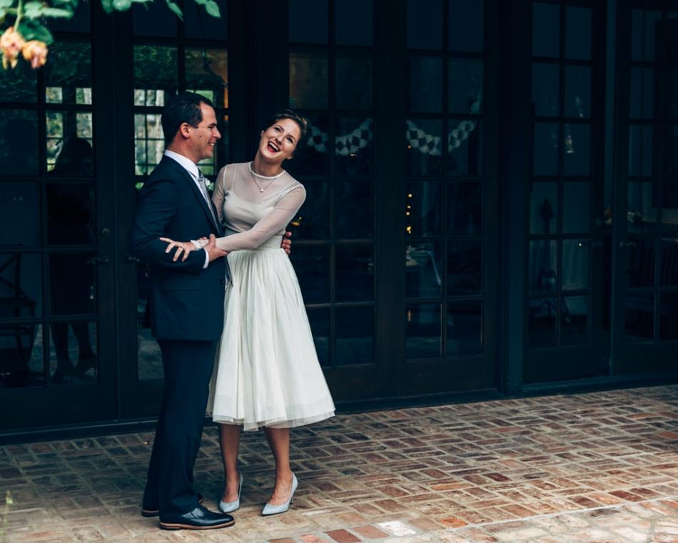 Joel Bedford Photography; Intimate Backyard Wedding, Santa Monica, California;