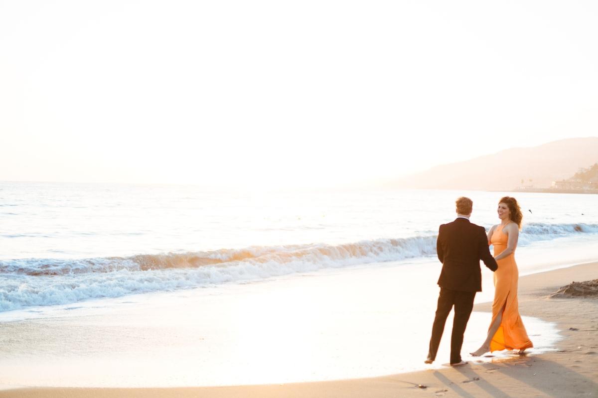 Joel Bedford Photography; Malibu Engagement Session