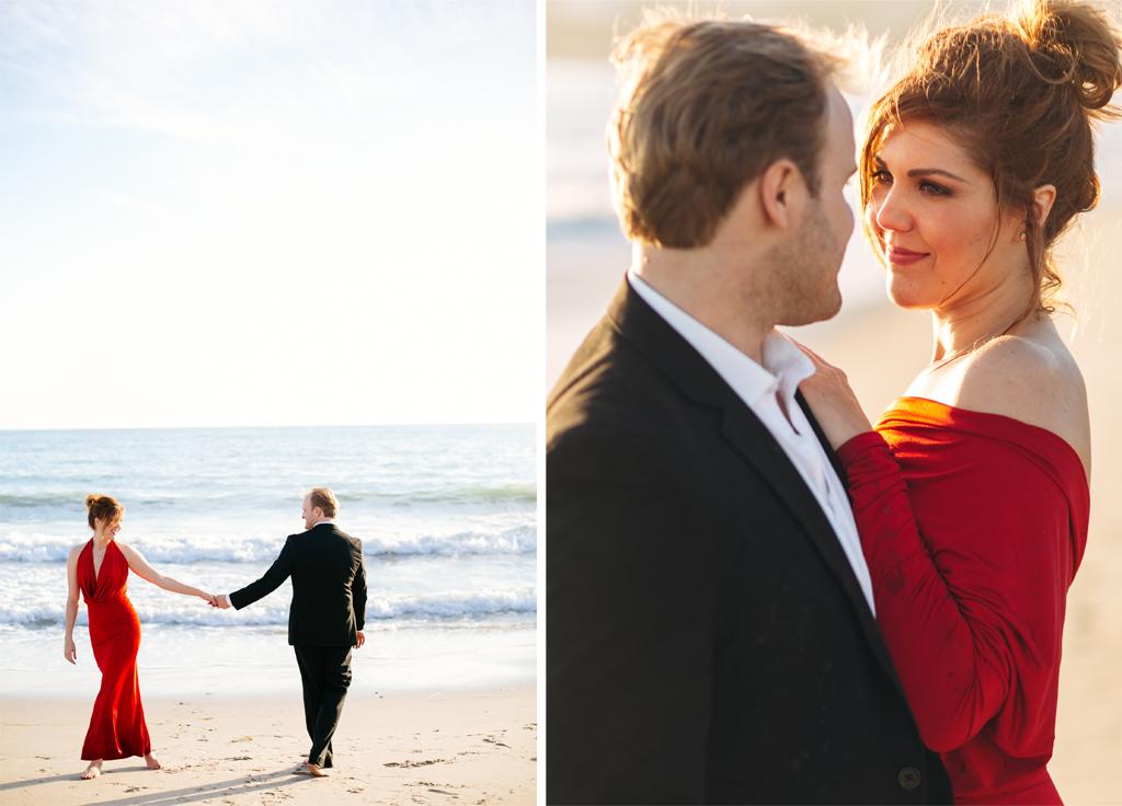 Joel Bedford Photography; Malibu Engagement Session;